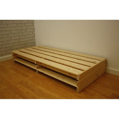 futon frame and mattress shiki futon bed base
