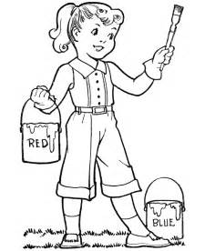 coloring pages boys girls coloring