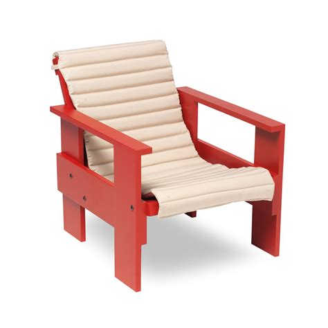 Gerrit Rietveld Crate Chair by Junior Crate Chair By Spectrum