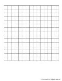 Blank 15 x 15 grid paper or word search grid woo jr kids