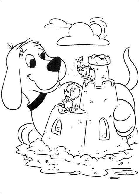 clifford autumn coloring pages animations a 2 z coloring pages of clifford the big red