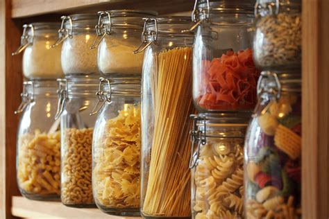 Dried Pasta Shelf how to begin a food storage plan on just 10 a week 5