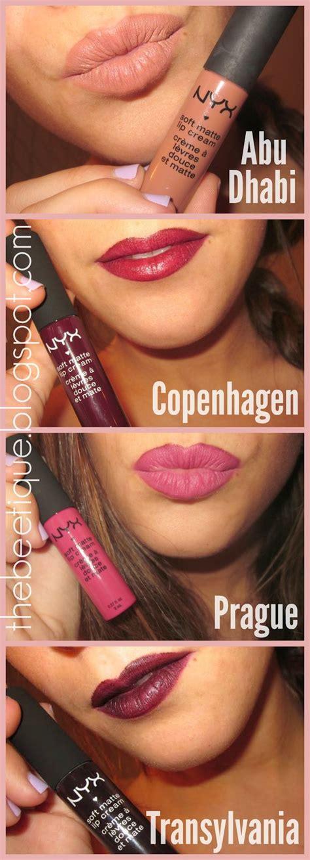 Lipstik Nyx Abu Dhabi nyx soft matte lip transylvania copenhagen