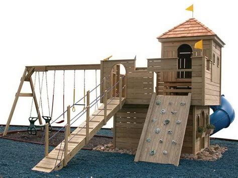 castle swing set plans outdoor how to make an outdoor castle swingset how to