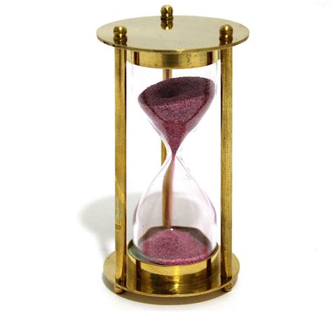 decorative sand brass sand timer hourglass sand timer decorative ebay
