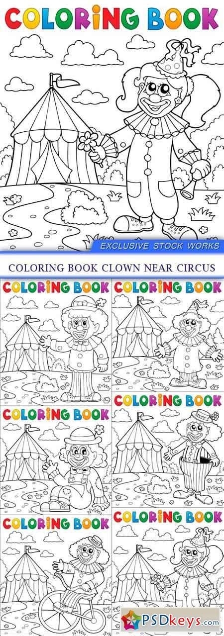 coloring book nippyshare circus 187 free photoshop vector stock image via