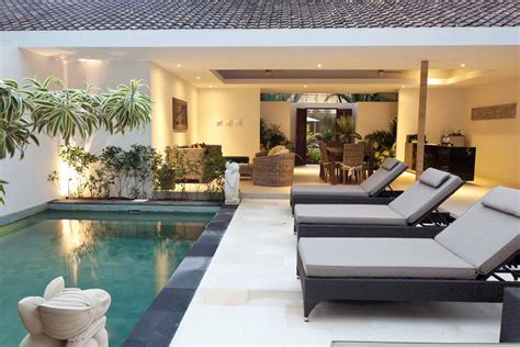bali 2 bedroom villa private pool pool villa seminyak two bedroom open living villa