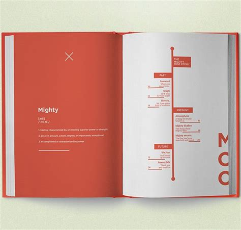 book layout behance mighty moo milkbar book publication layout and print
