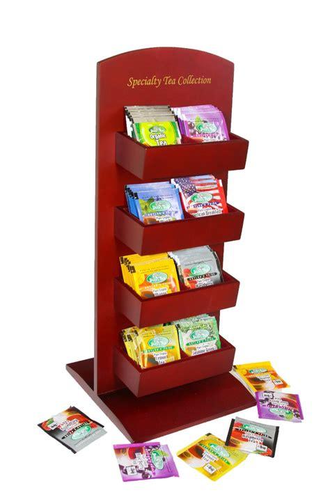 Tea Rack by Specialty Tea Collection Display Rack Tea Packs