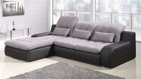 Sofa Beds Corner Units Affordable Corner Sofas Interesting Two Tone Sectional Sofa Also Leather Corner Thesofa