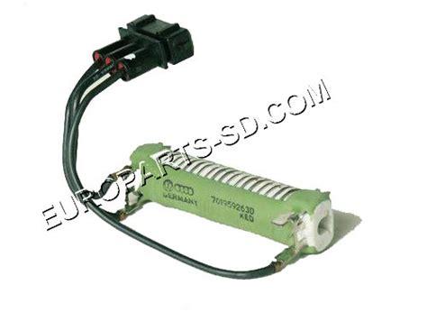 eurovan cooling fan resistor resistor radiator fan 1992 2003