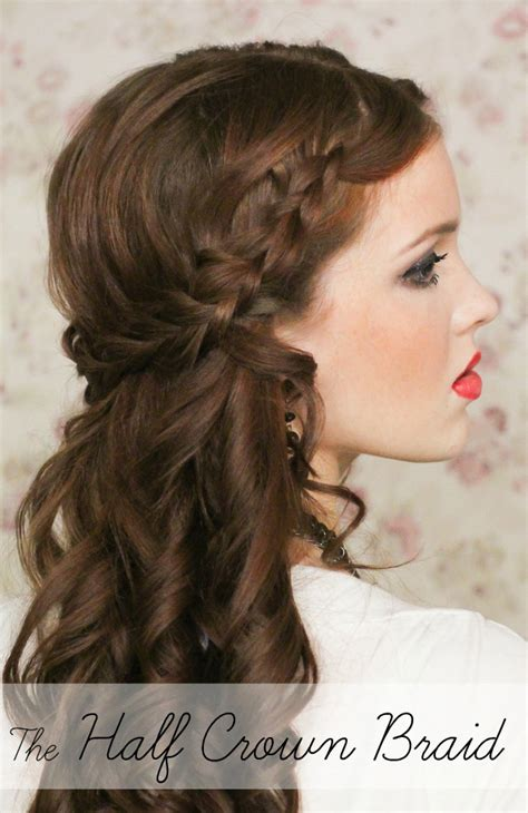15 casual simple hairstyles that are half up half