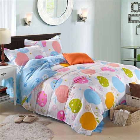 Apple Fruit Print Twin Full Size Bedding Sets Bedding