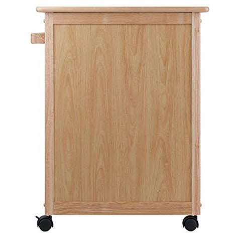Single Kitchen Cabinet winsome wood single drawer kitchen cabinet storage cart
