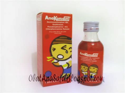 Obat Uh Flu Dan Pilek anakonidin obat batuk dan pilek untuk anak informasi