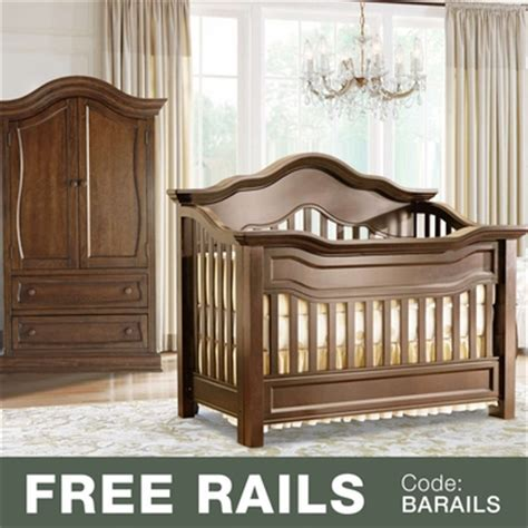 Baby Appleseed Millbury Crib Baby Appleseed Millbury 2 Nursery Set Convertible Crib And Armoire In Coco Free Shipping