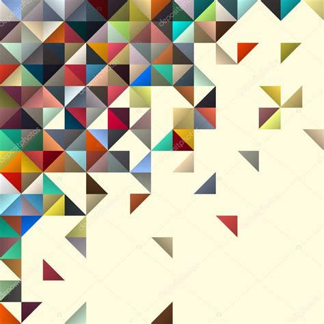 abstract geometric design elements vector abstract geometric background for design stock vector