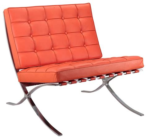 Orange Chaise Lounge Indoor Orange Italian Leather Lounge Chair Modern Indoor Chaise Lounge Chairs