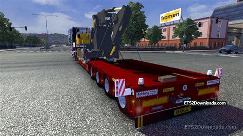 volvo trailer volvo ew230c trailer truck simulator 2 mods
