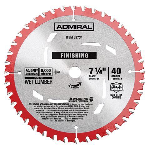 Mata Circular Saw 7 1 4 X 40t Pisau Potong Kayu Ryu Berkualitas D0292 7 1 4 in 40t finishing circular saw blade