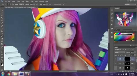 video tutorial edit photoshop cosplay photo editing tutorial youtube