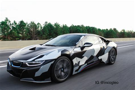 camo wrapped cars custom winter camo wrapped my bmw i8 autos