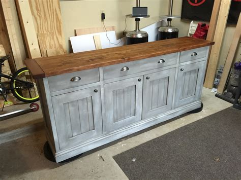 Ana White Planked Wood Sideboard Diy Projects Diy Buffet