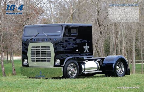 robb of the roof robb mariani s 1974 ford w9000 featuring a 13 inch roof