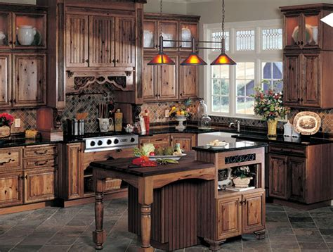 Kitchen Cabinets Rustic Style Document Moved