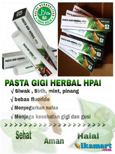 Pasta Gigi Siwak pasta gigi herbal hpai siwak alami sakit sensitif ngilu