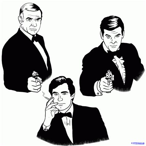 How To Draw 007