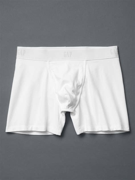 Brief Boxer Gap Size M gap basic boxer briefs in white for lyst