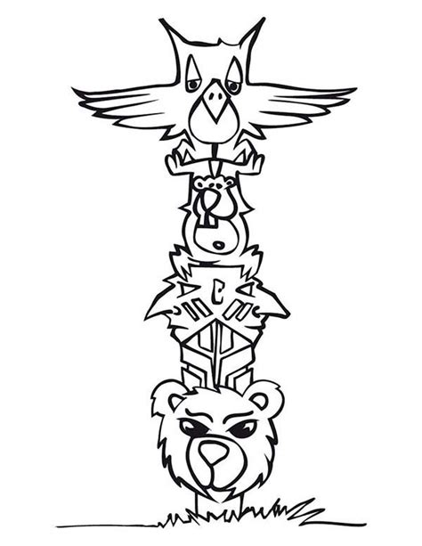 totem pole template pics for gt totem pole animal templates
