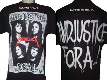 Kaos Metallica 98 Mt98 Oblong Distro kaos t shirt distro bandung rock metal