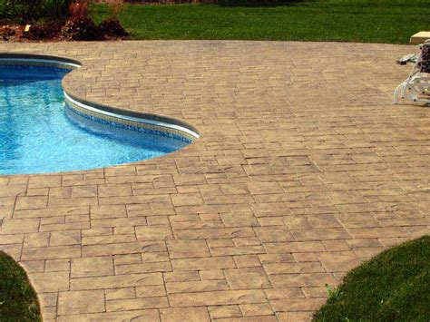 pavimento bordo piscina foto cemento stato pavimento moderno