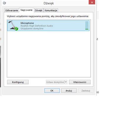 po podłączeniu słuchawek mikrofon w laptopie nie działa windows 8 dobreprogramy forum