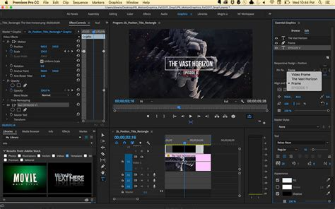adobe premiere pro news template premiere pro cc 2018 preview 5 must know new features