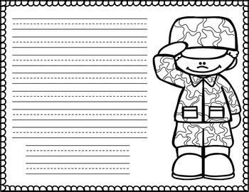 veterans day letter writing paper 16 best veterans day images on classroom ideas