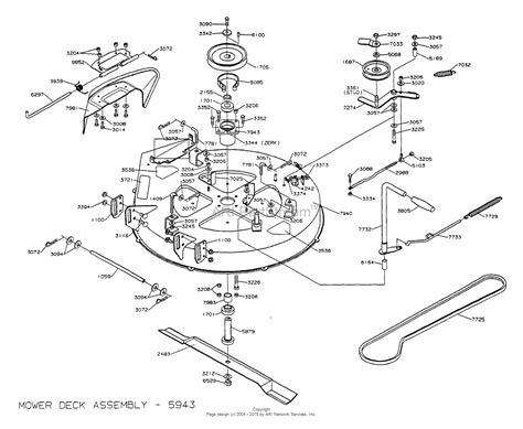zero turn mower parts diagram dixon ztr 3304 2001 parts diagram for mower deck 30 quot