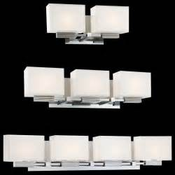 Contemporary Bathroom Vanity Lights Cubism Bath Bar By George Kovacs Contemporary Bathroom Vanity Lighting By Lumens