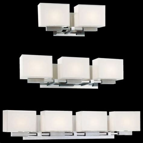 Bathroom Vanity Lights Modern Cubism Bath Bar By George Kovacs Contemporary Bathroom