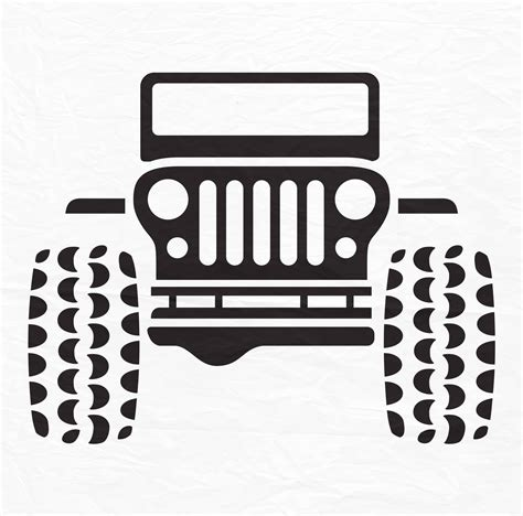 jeep silhouette jeep svg jeep jeep 4x4 quote svg svg files cricut cut
