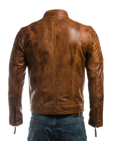 Fashion 832 Leather s vintage biker style leather jacket with shoulder detail leather shop