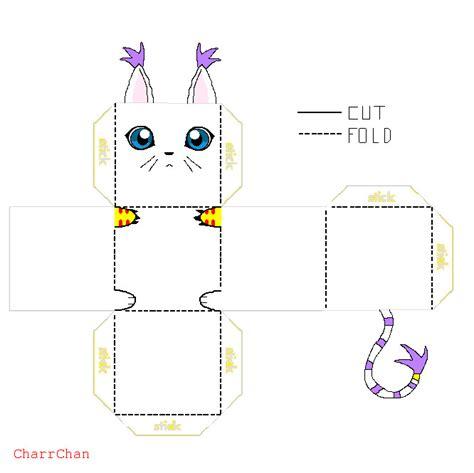 Digimon Papercraft - gatomon papercraft by charrchan on deviantart