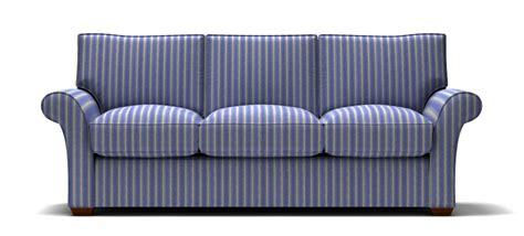 Stripe Sofa by Blue Striped Sofa