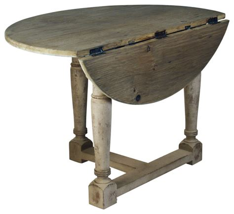 Drop All Tables by Country Cottage Drop Leaf Prague Table