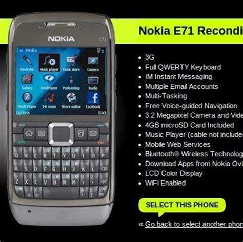 fb for nokia e71 deal alert nokia e71 for straight talk is now 49 99