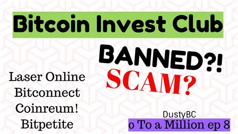 bitconnect discord bitcoin invest club banned scam bitconnect chain laser