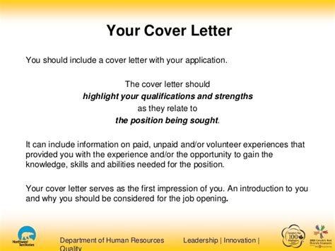 what do i include in a cover letter what should a application cover letter include where