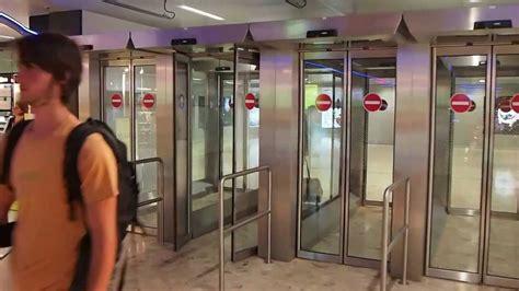 Geneva Watches Intl automatic arrival gates at geneva international airport